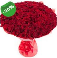 Özel mi Özel buket 101 adet kırmızı gül  Nevşehir internetten çiçek satışı