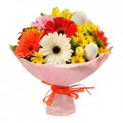 Karışık mevsim buketi Mevsimsel çiçek  Nevşehir çiçekçi telefonları