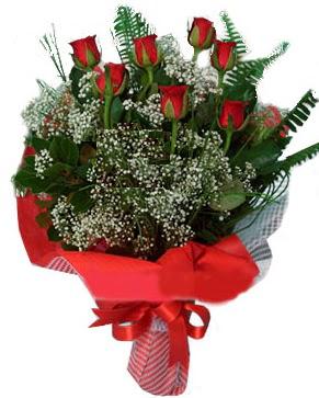 7 kırmızı gül buketi  Nevşehir çiçek siparişi vermek