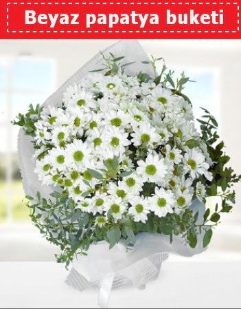 Beyaz Papatya Buketi  Nevşehir çiçek siparişi sitesi