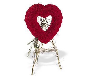 Nevşehir çiçek yolla  karanfillerden kalp pano