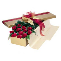 Nevşehir hediye çiçek yolla  10 adet kutu özel kutu