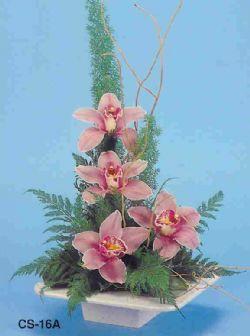 Nevşehir kaliteli taze ve ucuz çiçekler  vazoda 4 adet orkide