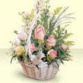 Nevşehir çiçek siparişi sitesi  sepette pembe güller