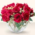 Nevşehir internetten çiçek siparişi  mika yada cam içerisinde 10 gül - sevenler için ideal seçim -