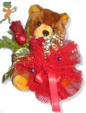 oyuncak ayi ve gül tanzim  Nevşehir çiçek gönderme