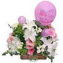 balon ve çiçeklerle tanzim  Nevşehir çiçek yolla