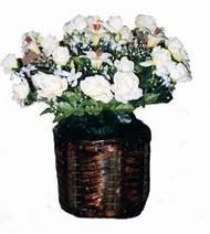 yapay karisik çiçek sepeti   Nevşehir ucuz çiçek gönder