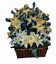 yapay karisik çiçek sepeti   Nevşehir çiçek mağazası , çiçekçi adresleri