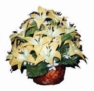 yapay karisik çiçek sepeti   Nevşehir çiçek gönderme sitemiz güvenlidir