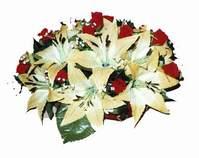 yapay karisik çiçek sepeti   Nevşehir çiçekçi telefonları