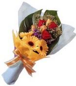 güller ve gerbera çiçekleri   Nevşehir çiçek online çiçek siparişi