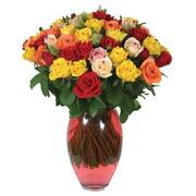 51 adet gül ve kaliteli vazo   Nevşehir çiçek online çiçek siparişi