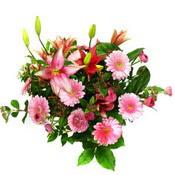 lilyum ve gerbera çiçekleri - çiçek seçimi -  Nevşehir çiçek mağazası , çiçekçi adresleri