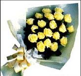 sari güllerden sade buket  Nevşehir yurtiçi ve yurtdışı çiçek siparişi
