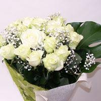 Nevşehir çiçek yolla , çiçek gönder , çiçekçi   11 adet sade beyaz gül buketi