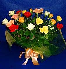 Nevşehir çiçek yolla , çiçek gönder , çiçekçi   13 adet karisik renkli güller