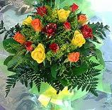 13 adet karisik gül buketi demeti   Nevşehir çiçekçi mağazası