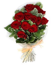 Nevşehir anneler günü çiçek yolla  9 lu kirmizi gül buketi.