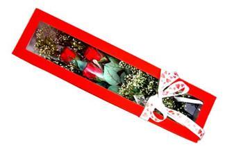 Nevşehir çiçek yolla , çiçek gönder , çiçekçi   Kutuda 3 adet gül
