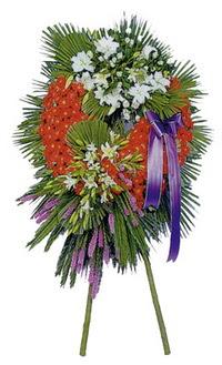 Nevşehir ucuz çiçek gönder  cenaze çelengi