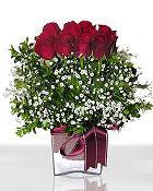 Nevşehir yurtiçi ve yurtdışı çiçek siparişi  11 adet gül mika yada cam - anneler günü seçimi -