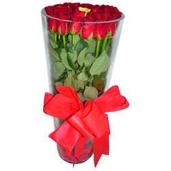Nevşehir internetten çiçek siparişi  12 adet kirmizi gül cam yada mika vazo tanzim