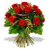 9 adet kirmizi gül ve kir çiçekleri  Nevşehir çiçek yolla