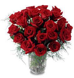 Nevşehir çiçek online çiçek siparişi  11 adet kirmizi gül cam yada mika vazo içerisinde