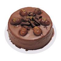 Kestaneli çikolatali yas pasta  Nevşehir yurtiçi ve yurtdışı çiçek siparişi