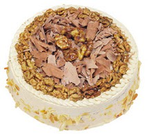 Karamelli 4 ile 6 kisilik yas pasta  Nevşehir çiçek servisi , çiçekçi adresleri