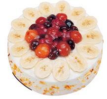 Meyvali 4 ile 6 kisilik yas pasta leziz  Nevşehir online çiçekçi , çiçek siparişi