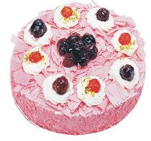 Sahane Tat yas pasta frambogazli yas pasta  Nevşehir çiçek online çiçek siparişi
