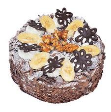 Muzlu çikolatali yas pasta 4 ile 6 kisilik   Nevşehir çiçekçi mağazası