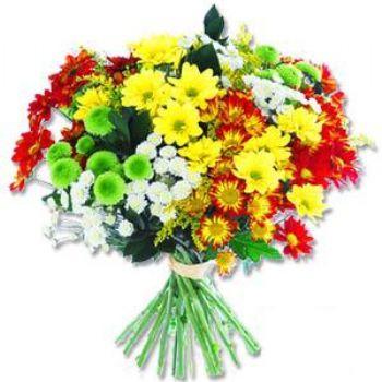 Kir çiçeklerinden buket modeli  Nevşehir çiçek , çiçekçi , çiçekçilik