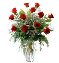 Vazo içerisinde 11 kirmizi gül  Nevşehir çiçek satışı