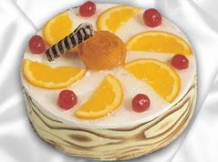 lezzetli pasta satisi 4 ile 6 kisilik yas pasta portakalli pasta  Nevşehir İnternetten çiçek siparişi