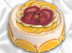 leziz pastane 4 ile 6 kisilik yas pasta meyvali yaspasta  Nevşehir cicek , cicekci
