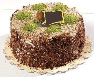 pasta gönderme 4 ile 6 kisilik çikolatali yas pasta  Nevşehir güvenli kaliteli hızlı çiçek