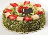 pasta gönder  4 ile 6 kisilik karisik meyvali yas pasta  Nevşehir çiçekçi telefonları