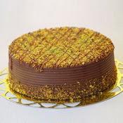 sanatsal pastaci 4 ile 6 kisilik krokan çikolatali yas pasta  Nevşehir ucuz çiçek gönder