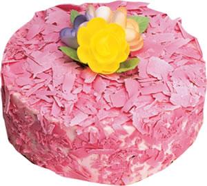 pasta siparisi 4 ile 6 kisilik framboazli yas pasta  Nevşehir çiçek servisi , çiçekçi adresleri