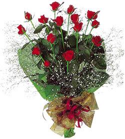 11 adet kirmizi gül buketi özel hediyelik  Nevşehir İnternetten çiçek siparişi