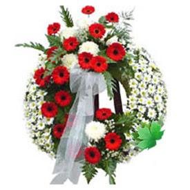Cenaze çelengi cenaze çiçek modeli  Nevşehir çiçekçi mağazası