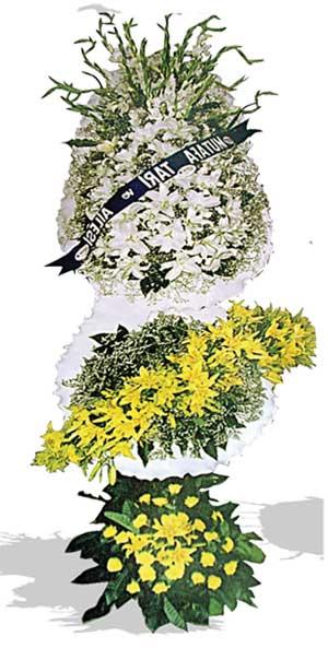 Dügün nikah açilis çiçekleri sepet modeli  Nevşehir yurtiçi ve yurtdışı çiçek siparişi