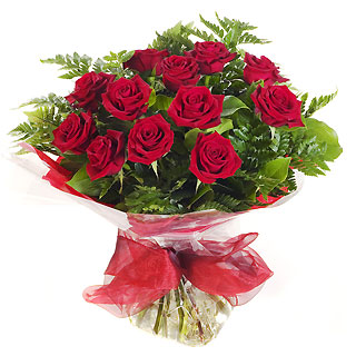 Ucuz Çiçek siparisi 11 kirmizi gül buketi  Nevşehir internetten çiçek siparişi