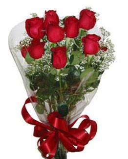 Çiçek sade gül buketi 7 güllü buket  Nevşehir çiçek , çiçekçi , çiçekçilik