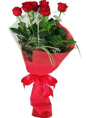 7 adet kirmizi gül buketi  Nevşehir anneler günü çiçek yolla