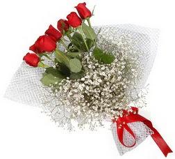 7 adet kirmizimi kirmizi gül buketi  Nevşehir çiçekçiler