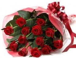 Nevşehir internetten çiçek satışı  10 adet kipkirmizi güllerden buket tanzimi
